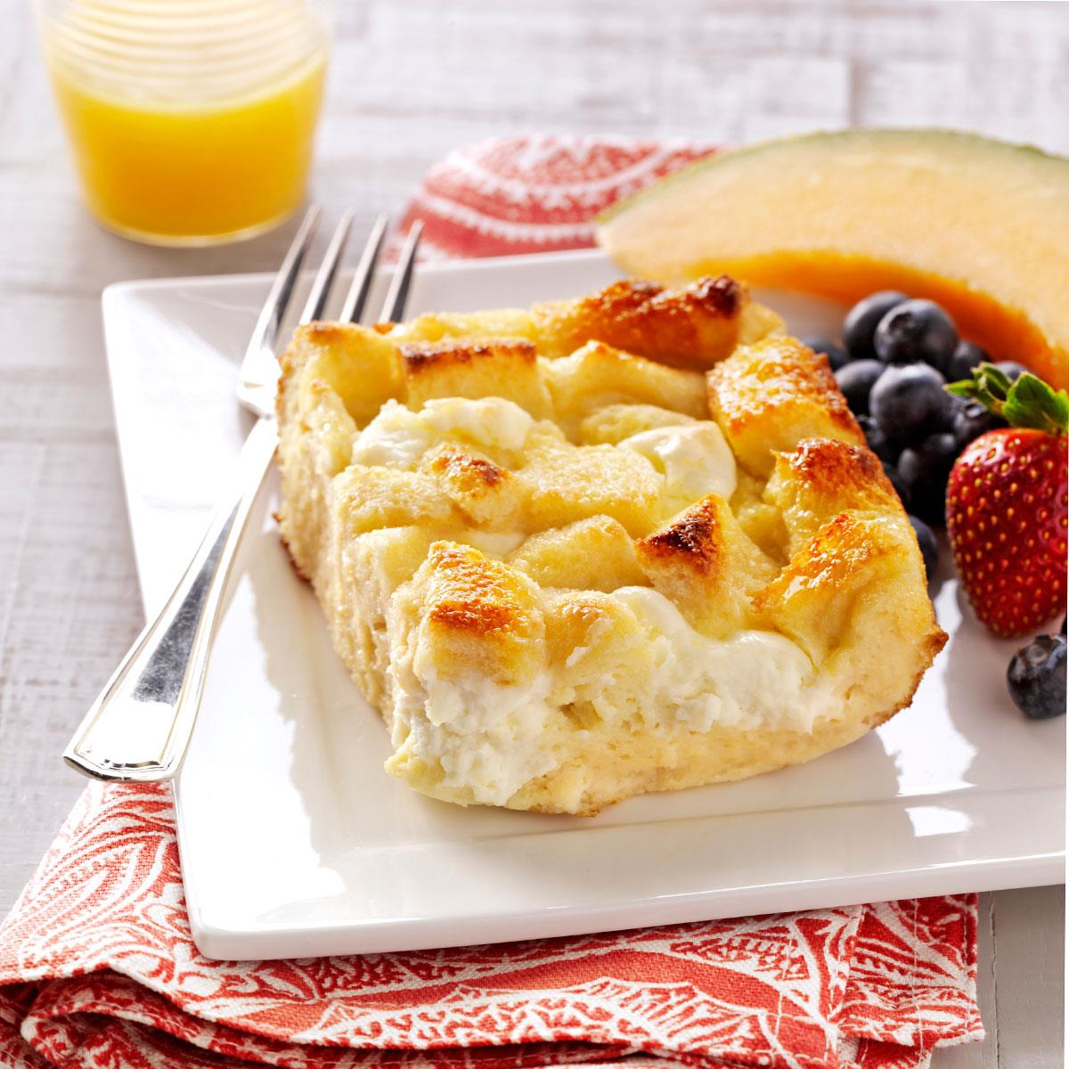 Breakfast Bread Pudding Recipe | Taste of Home