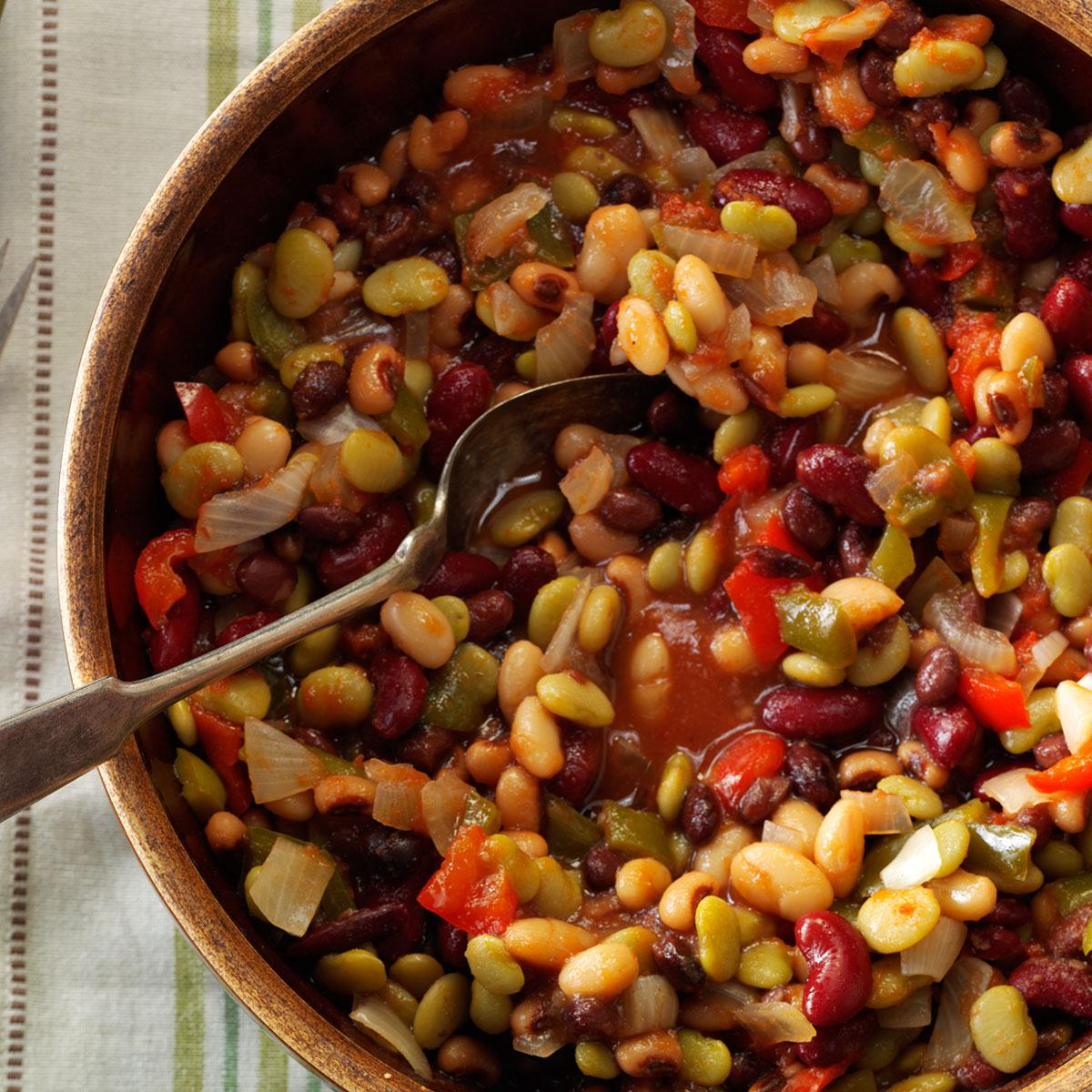 Partytime Beans Recipe Taste Of Home