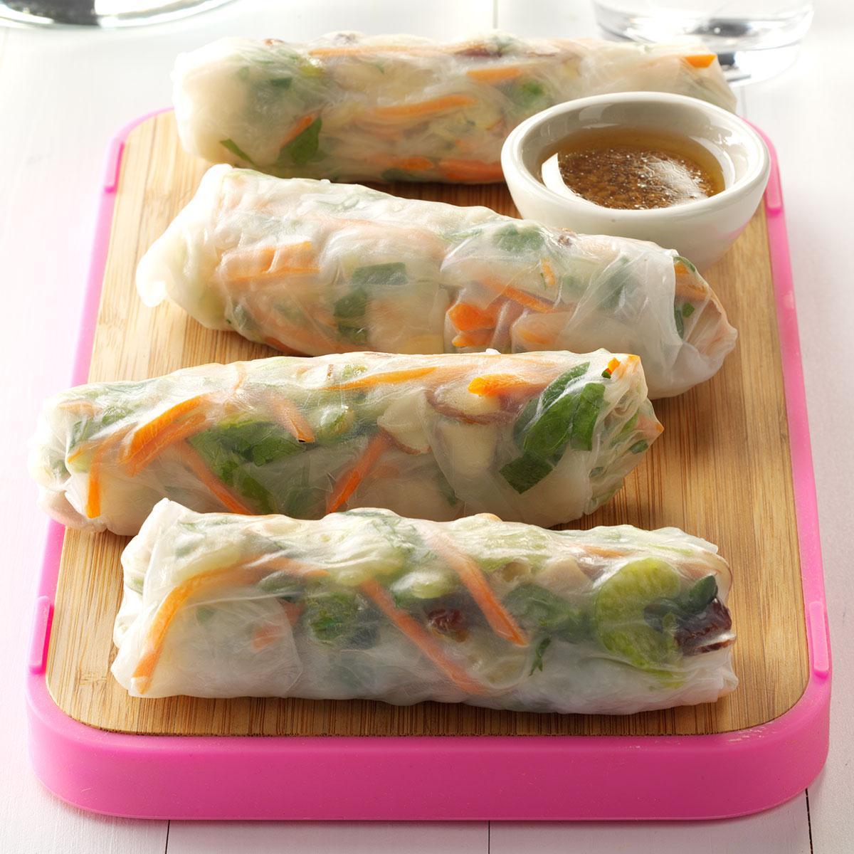 Vegetable Spring Roll Pork & Vegetabl...
