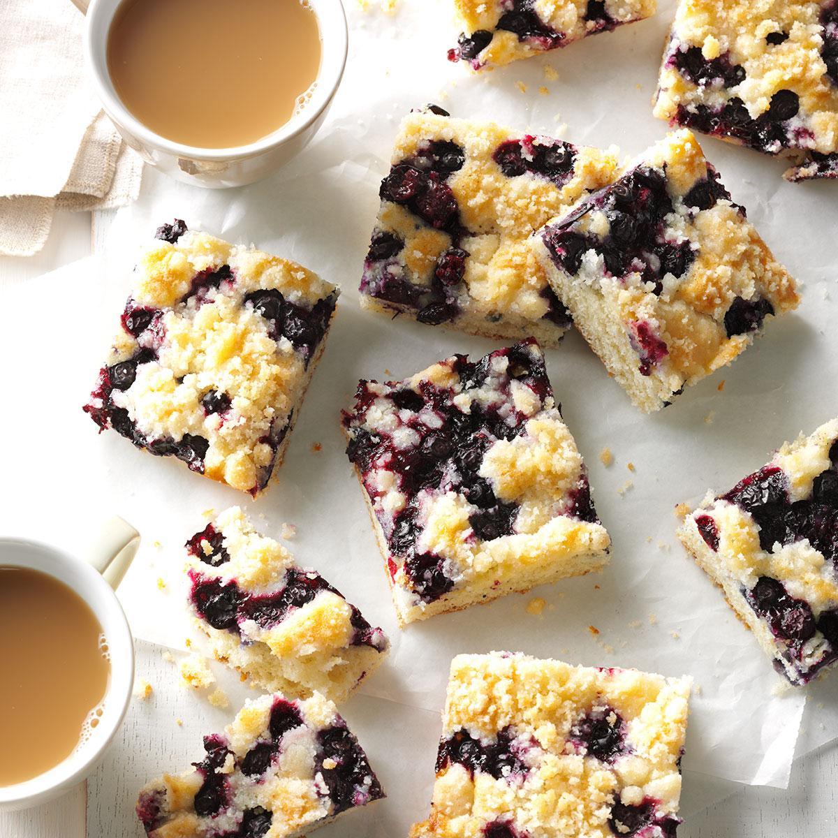 Blueberry Kuchen Recipe | Taste of Home