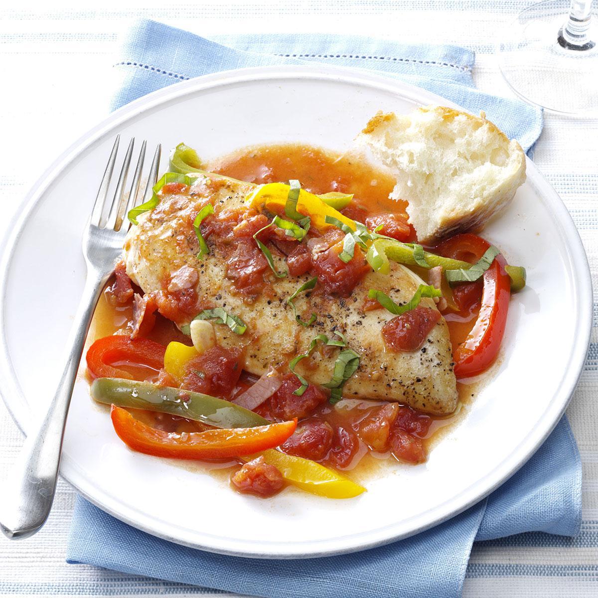 Healthy Tuscan Chicken Recipe