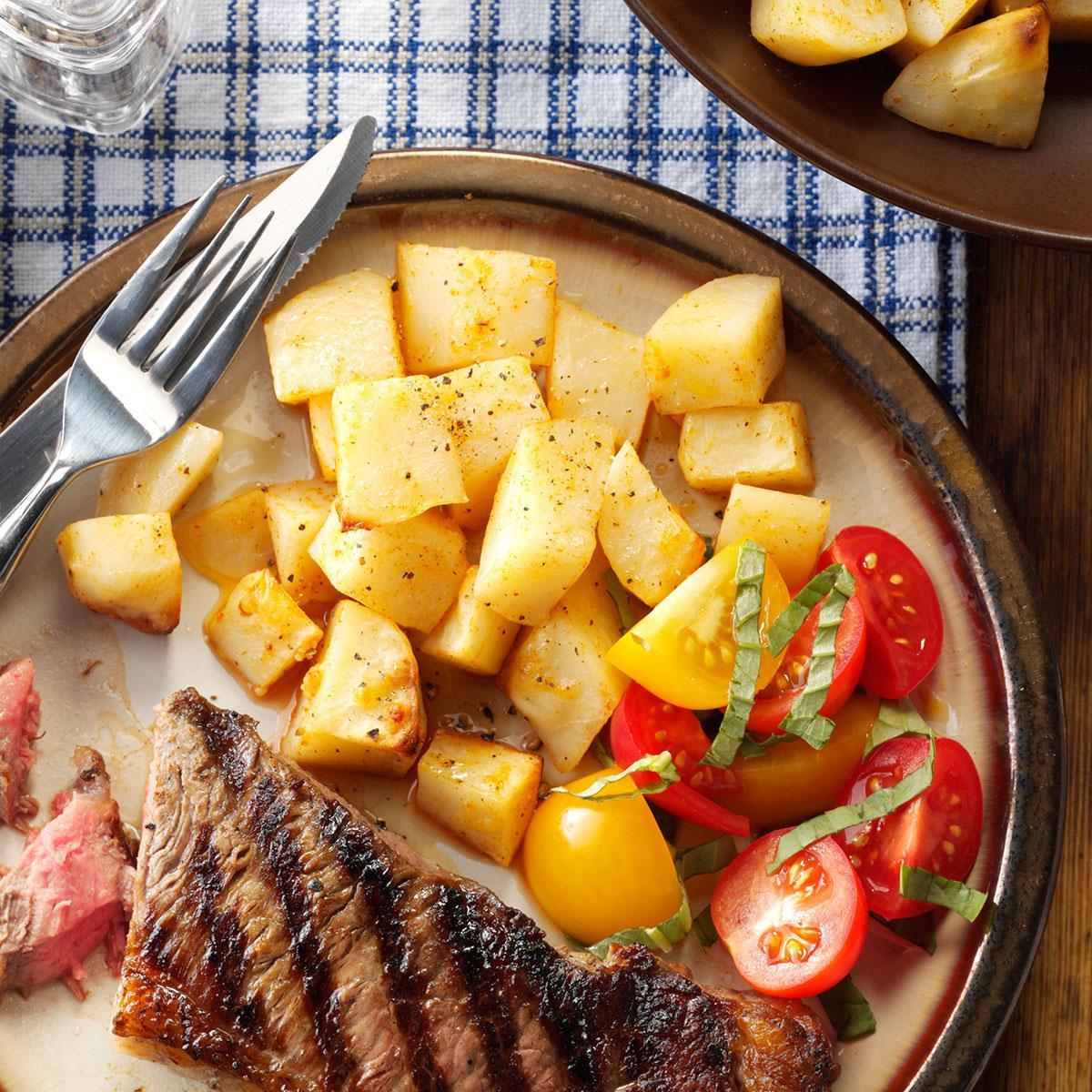 Oven-Fried Potatoes Recipe