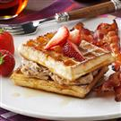 Oatmeal Nut Waffles Recipe | Taste of Home