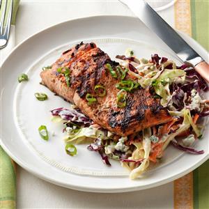 1-2-3 Grilled Salmon Recipe