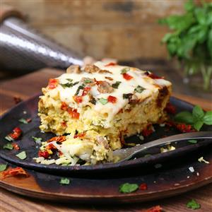 Overnight Slow Cooker Breakfast Casserole Recipe