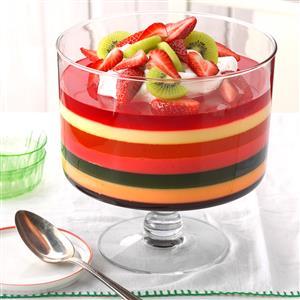 7-Layer Gelatin Salad Recipe