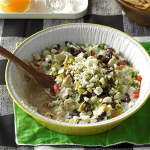 9-Layer Greek Dip Recipe