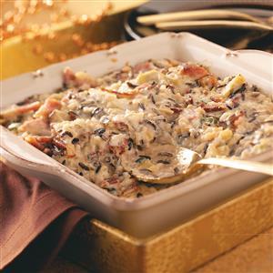 Alfredo Rice Casserole Recipe