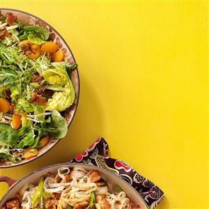 Almond & Mandarin Orange Salad Recipe