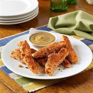Almond Chicken Strips Recipe