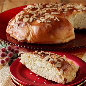 Danish Coffee Cake Almond Paste