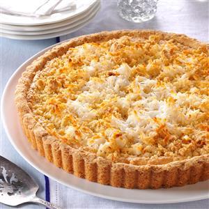 Almond Macaroon Tart Recipe