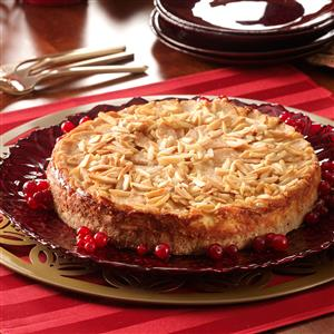 Almond Pear Torte Recipe