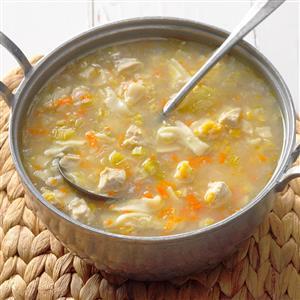 Amish Chicken Corn Soup Recipe