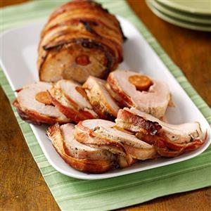Andouille-Stuffed Pork Loin Recipe