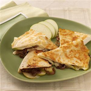 Apple Brie Quesadillas Recipe