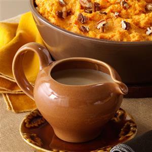 Apple Butter & Onion Gravy Recipe