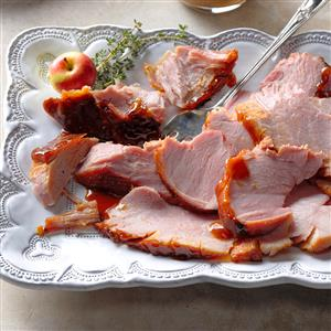 Apple Cider-Glazed Ham Recipe