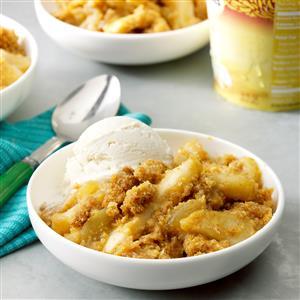Apple Corn Bread Crisp Recipe