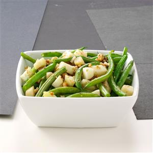 Apple-Green Bean Saute Recipe