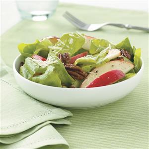 Apple-Pecan Salad with Honey Vinaigrette Recipe