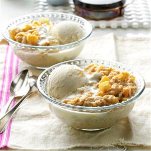 Apple Pie Oatmeal Dessert Recipe