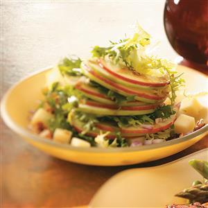 Apple Salad with Maple Vinaigrette Recipe