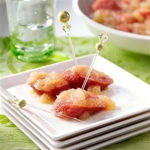 Apple Sausage Appetizers Recipe