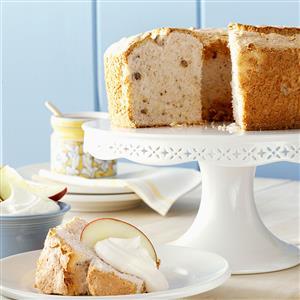 Apple-Spice Angel Food Cake Recipe