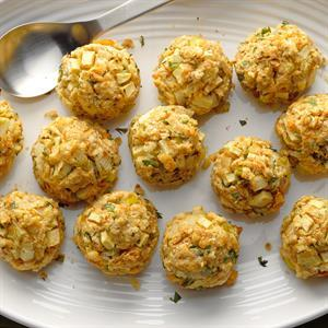 Apple Stuffing Balls Recipe