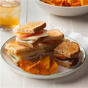 Apple-Swiss Turkey Sandwiches Recipe