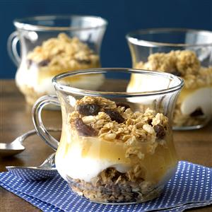 Apple Yogurt Parfaits Recipe