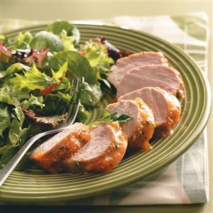 Apricot-Glazed Pork Tenderloin for Two Recipe