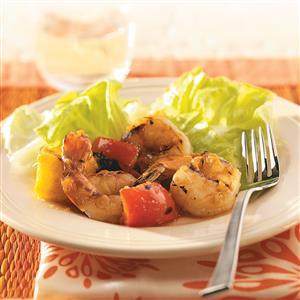 Apricot-Pineapple Glazed Shrimp Recipe