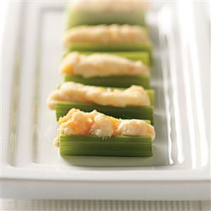 Apricot-Ricotta Stuffed Celery Recipe