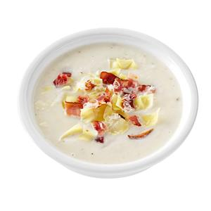 Artichoke & Bacon Cauliflower Soup Recipe