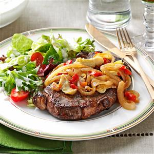 Artichoke Beef Steaks Recipe