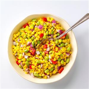 Asian Corn Succotash Recipe