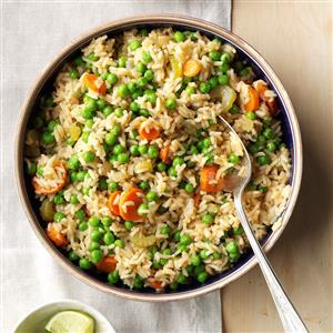 Asian Rice Pilaf Recipe