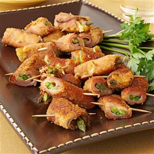 Asparagus Ham Swirls Recipe