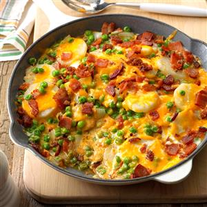 Au Gratin Peas and Potatoes Recipe