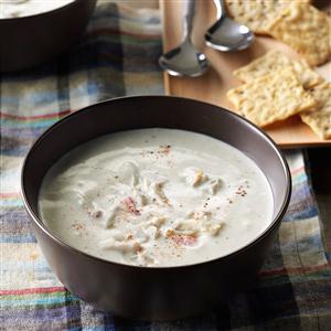 Aunt Nancy's Cream of Crab Soup Recipe