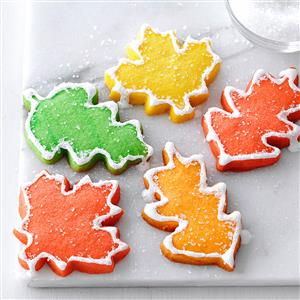Autumn Leaf Cutouts Recipe