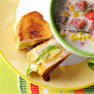 Avocado Sandwiches Recipe