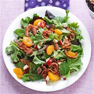 BBQ Pork Salad Recipe