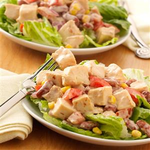 BBQ Ranch Salad Recipe