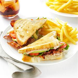 BLT with Peppered Balsamic Mayo Recipe