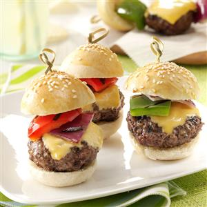 Bacon & Cheese Meatball Sliders Recipe