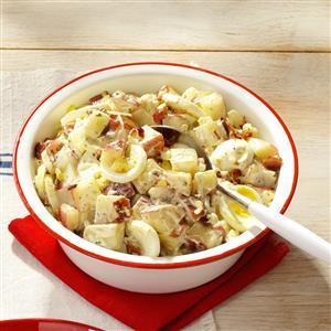 Bacon & Egg Potato Salad Recipe
