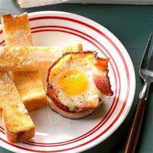 Bacon 'n' Egg Bundles Recipe